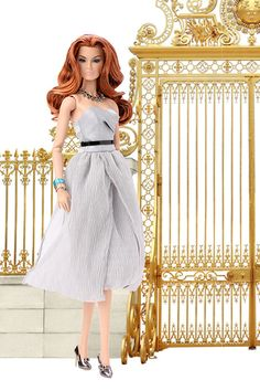 """Fashion Royalty """"Reception A Versailles"""" Veronique Outfit, 2016 W Club Exclusive, by Integrity Toys Jason Wu. Reception A Versailles Outfit. Limited Edition What you see in last 3 photos is what you'll get (No doll, No Jewelry set). Versailles, Fashion Royalty Dolls, Fashion Dolls, 35th Wedding Anniversary, Barbie Model, Barbie Dolls, Barbie Wedding, Designer Cocktail Dress, Presents For Her"""