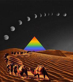https://flic.kr/p/HoVHHr | Piramide 80 | Colagem