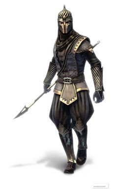 View an image titled 'Shahkulu - The Renegade Art' in our Assassin's Creed: Revelations art gallery featuring official character designs, concept art, and promo pictures. Fantasy Armor, Medieval Fantasy, Dark Fantasy, Character Concept, Character Art, Concept Art, Dnd Characters, Fantasy Characters, Fantasy Inspiration
