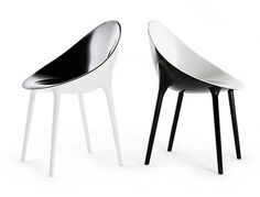 Sessel Super Impossible Zweifarbige Ausführung, Schwarz / Innen Weiß Von  Kartell Finden Sie Bei Made In Design, Ihrem Online Shop Für Designermöbel,  ...