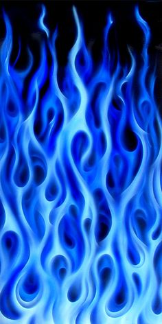 Hardart blue flames ii learn how to airbrush tips tricks and techniques Airbrush Designs, Airbrush Art, Trippy Wallpaper, Iphone Background Wallpaper, Retro Wallpaper, Purple Wallpaper Iphone, Skull Wallpaper, Blue Aesthetic Dark, Purple Aesthetic