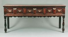 A fine William and Mary serving dresser - Stock - Moxhams Antiques