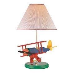 Lite Source 3AP20107 1 Light Airplane Table Lamp