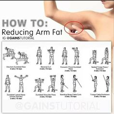 How To Reduce ARM Fat Exercises # fat # arms # workout # women … - Ketogenic Diet Fitness Workouts, At Home Workouts, Fitness Motivation, Workouts For Arms, Workouts For Women, Thigh Workouts, Gym Machine Workouts, Back Fat Exercises At Home, Inner Leg Workouts