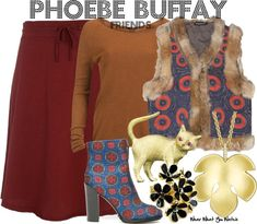 Inspired by Lisa Kudrow as Phoebe Buffay on Friends.