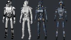 3D Model Chappie Scout 22 | Futuristic Characters 3D Models | Vilmar - 3D Squirrel