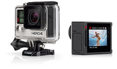 GoPro – HERO4 Silver/Surf – Pro-quality video. Includes surf mounts.