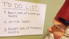 Headed to #Boston tomorrow and here's my to do list so far. Anything I missed? #GnomeWisdom