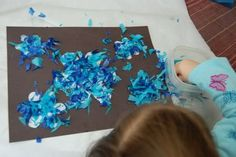 Both of the girls are so proud of how their beautiful stained glass snowflakes turned out, and they were so easy (and frugal) to ...