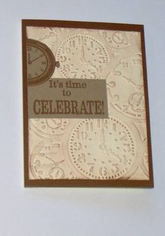 stampmontana--masculine birthday card by stampmontana - Cards and Paper Crafts at Splitcoaststampers