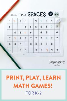 I like math games that are easy to prep and easy to play! These games are all black and white and only need dice, cubes, crayons, and a pencil to play! These print and play math games are perfect for first grade and cover every skill for the year! Head over to the blog to see more!  #firstgrademath #printplaymath #mathactivities #firstgrade