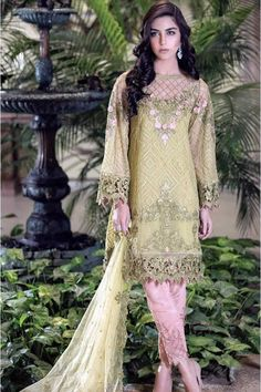 Maria B Embroidered Collection 2016
