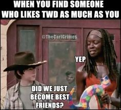 Found this on Tumblr. Thought it was funny. The Walking Dead! c: