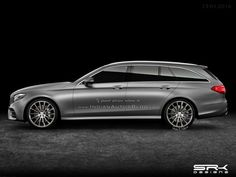 2016 #Mercedes E-Class Estate – #IAB #Rendering