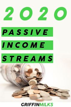 Start this fresh new decade with a plan to create some new passive incomes streams! This article covers an extensive list of the Best Passive Income Ideas for 2020 Make Money Blogging, Make Money From Home, Make Money Online, Saving Money, How To Make Money, Passive Income Sources, Passive Income Streams, Creating Passive Income, Investing Apps