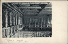 Interior de la Audiencia de Valencia