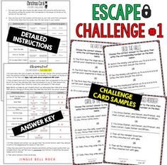 Escape Room Team Building Challenge My Tpt Stuff