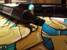 Washington DC Graffiti Handmade Mixed media on A4 by DrawMyMind, $30.00