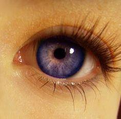 Resultado de imagem para olhos roxos existem