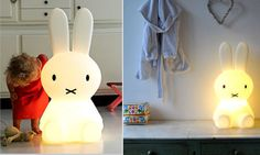 Miffy Lamp by Lazybone