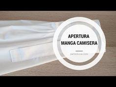 En este tutorial vamos a tratar una de las partes más liosas cuando nos enfrentamos a coser una camisa, el aseo de la apertura de la manga camisera. Tandoori Masala, Sewing Hacks, Youtube, Pattern, Farmhouse Rugs, Sewing Techniques, Sewing Tutorials, Sewing Projects, Old Shirts