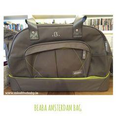 Changing bag porn! Beaba Amsterdam Bag
