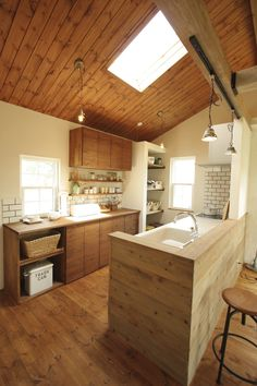 Excellent simple ideas for your inspiration Japanese Home Decor, Japanese Kitchen, Japanese Interior, Japanese House, Earthy Kitchen, Country Kitchen, Kitchen Interior, Kitchen Decor, New Kitchen Designs