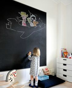 Interactive Walls for Kid Spaces