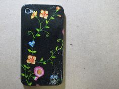 night flowers  iphone 4s case/ iphone 4s cover / iPhone by piimism, $16.50