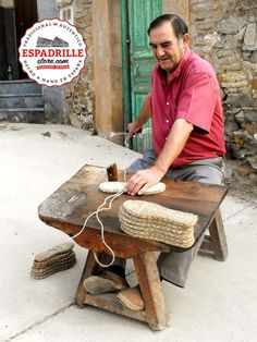 Find out how the authentic espadrille is handcrafted in Spain