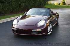 2005 Porsche Boxster 2dr Roadster 2dr Roadster LOW MILES !!! RARE COLORO COMBO !!! HEATED SEATS !!! 5-SPEED MANUAL
