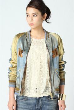 Deuxieme Classe アパルトモン リバーシブルTIGER刺繍スカジャン / Tiger embroidery jacket on ShopStyle