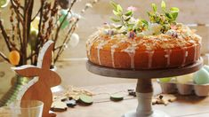 Húsvéti citromos koszorú | Street Kitchen Condensed Milk, Sweet Desserts, Cake Recipes, Protein, Pudding, Easter, Sweets, Baking, Food