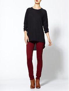 bordeaux jeans