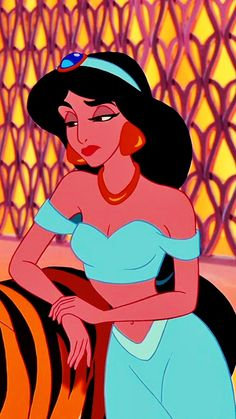 Princess Jasmine; the princess of sass lolol not a real person but I've always wanted to be like her! <3