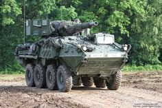 Stryker MGS (Mobile Gun System) with gun