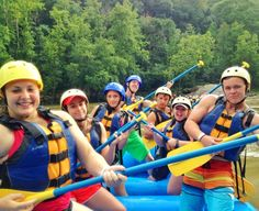 Whitewater rafting with ACE
