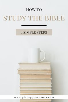 How do I begin studying the Bible? Where do I even start? Click here for a few simple steps to get the most of studying your Bible. My hope is that you experience the transforming presence and love of God. Qualities Of God, Praying For Your Children, Book Of James, Scripture Memorization, Bible Resources, Identity In Christ, Losing Faith, Fight The Good Fight, Christian Parenting