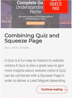 Combining Quiz and Squeeze Page - Arthur Cimatu Squeeze Page, Understanding Yourself, Insight, It Works, Website, Nailed It