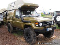 Toyota 4x4 Camper
