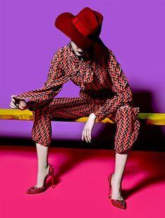 Gwen Lu by Herring & Herring for WTF? Magazine