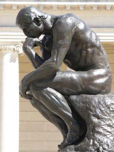 Auguste Rodin - Le penseur +++++