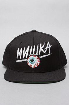 fb8c897b0c9 Mishka The Fanatic Snapback Cap in Black Mishka