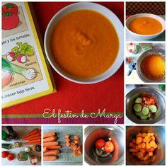 El festín de Marga: Gazpacho de zanahoria