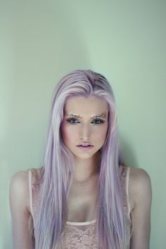 Would I look good as a lavender blonde? I think I'd have to do a plum brunette or something...