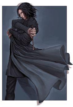 All Hail King Severus Snape /* Harry Potter Fan Art, Harry Potter Severus Snape, Alan Rickman Severus Snape, Rowling Harry Potter, Harry Potter Anime, Harry Potter Universal, Harry Potter Fandom, Harry Potter Characters, Albus Dumbledore