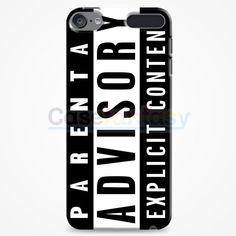 Parental Advisory Psycidelic iPod Touch 6 Case | casefantasy