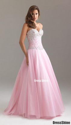 1bf77cbc6666 2012 Style A-line Sweetheart Beading Sleeveless Floor-length Tulle Prom  Dress   Evening Dress