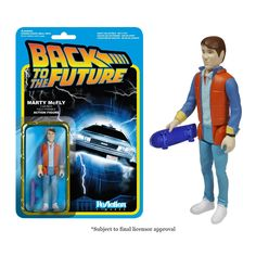 "Reaction Back To The Future Marty Mcfly 3.75"" Action Figure"