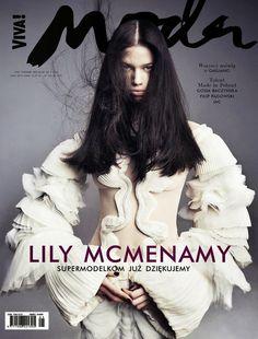 Lily McMenamy by Marcin Tyszka for Viva! Moda 2013